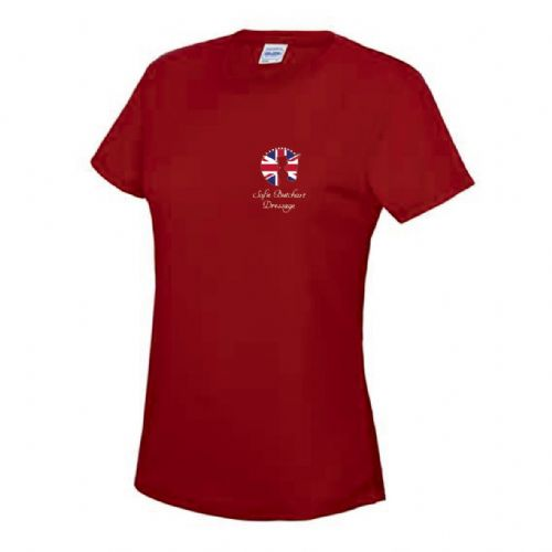 Kids Red Sofie Butchart Dressage T-Shirt